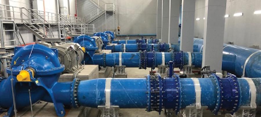 Tổng thầu EPC nhà máy nước sông Đà - trạm điều tiết Tây Mỗ