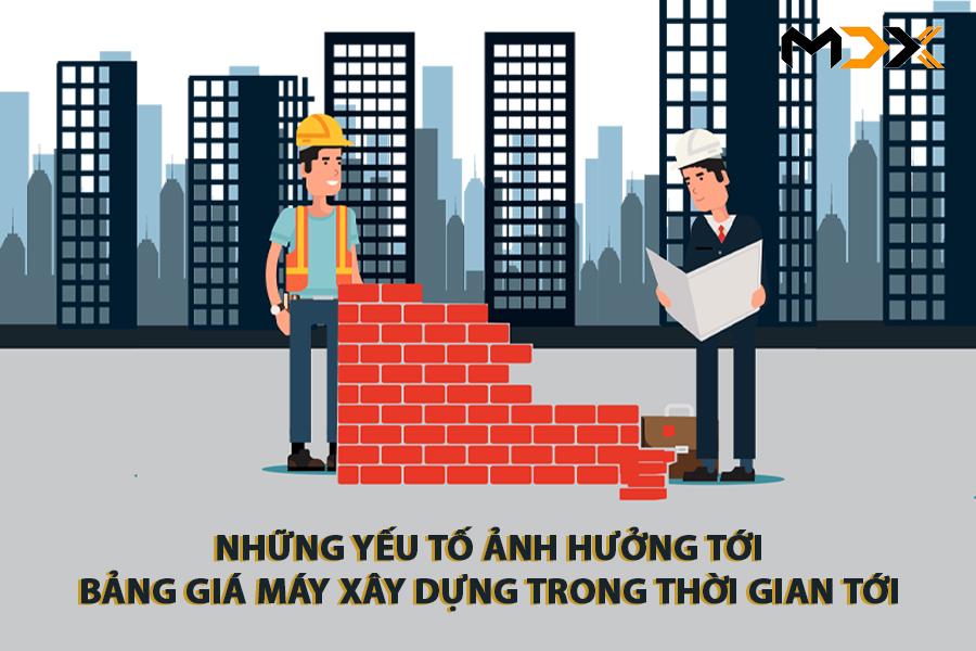 bảng giá ngành xây dựng