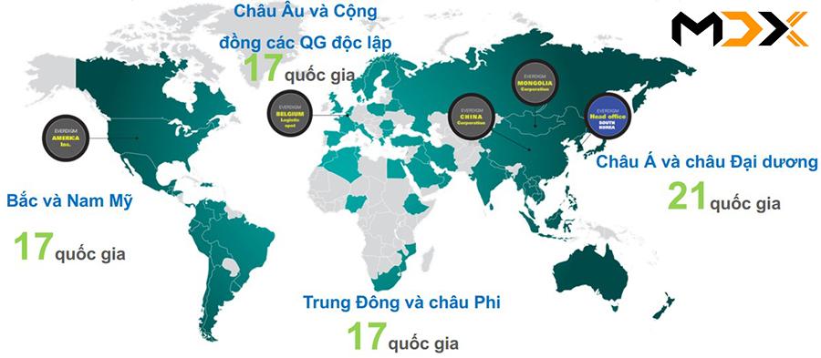 Mạng lưới kết nối toàn cầu của Hyunda Everdigm