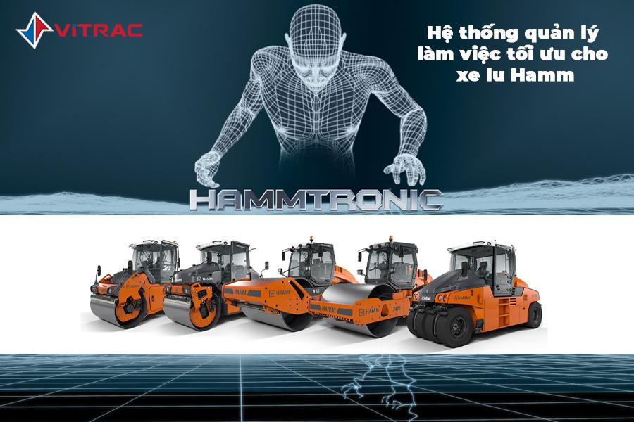 hammtronic gia tăng hiệu xuất làm việc của xe lu hamm