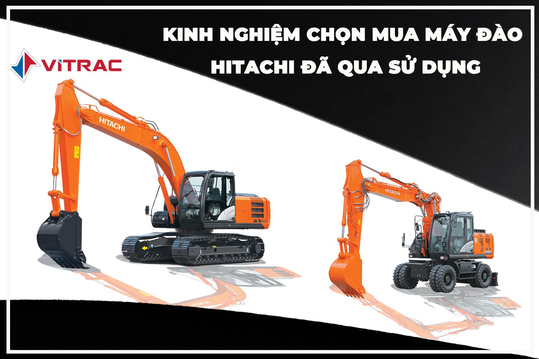 máy đào hitachi qua sử dụng