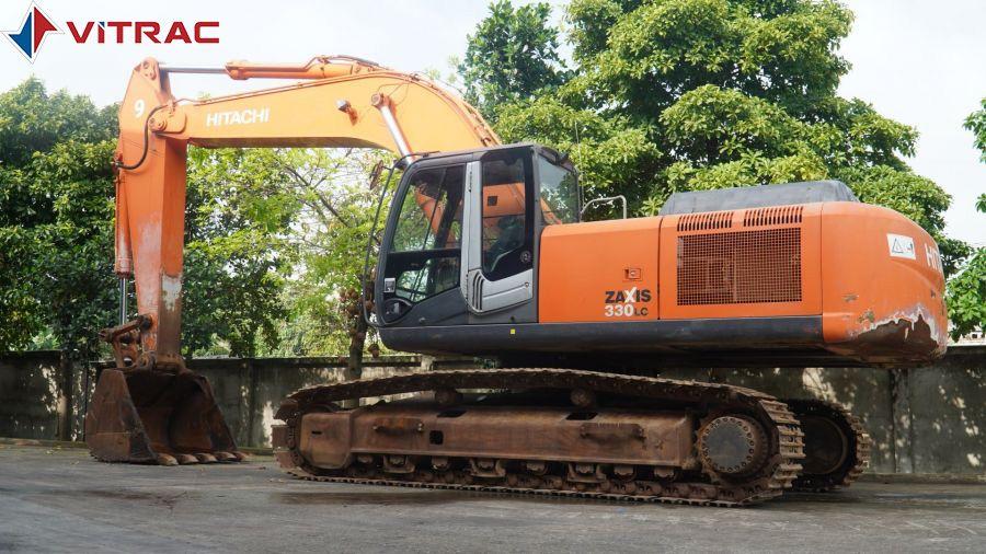 máy đào hitachi đã qua sử dụng